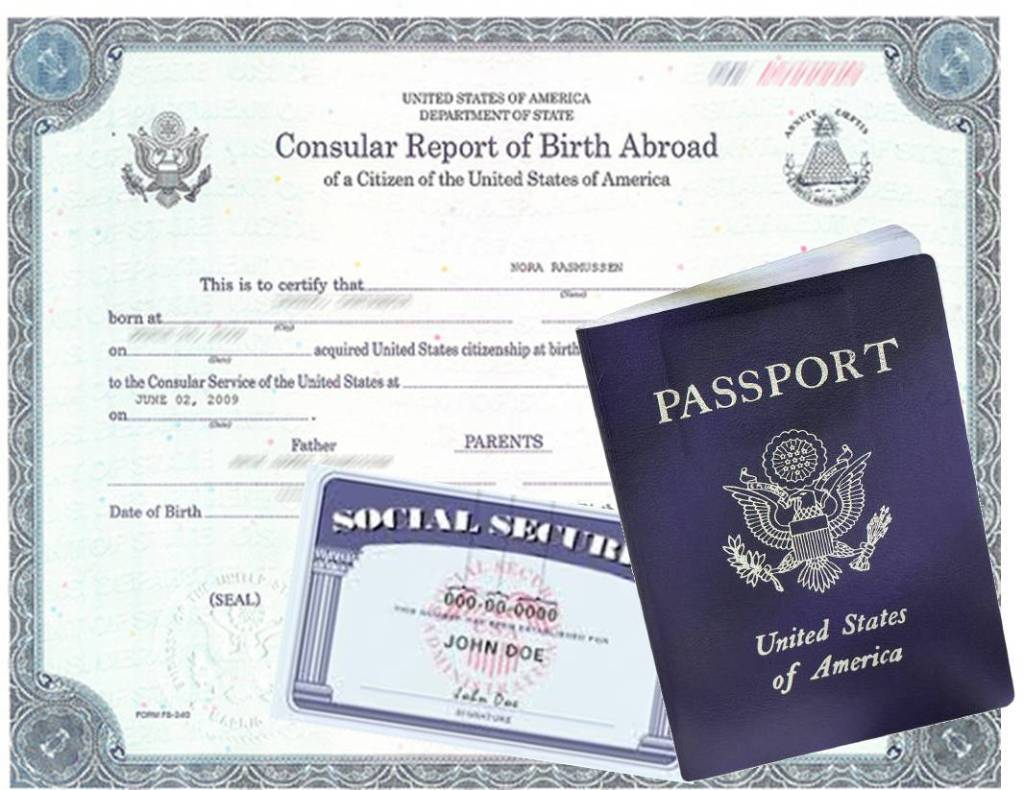consular report of birth abroad